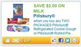 HURRY!!  $2.00 off Milk Coupon wyb Pillsbury!!!
