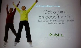New PUBLIX Booklet!  Get a Jump on Good Health!