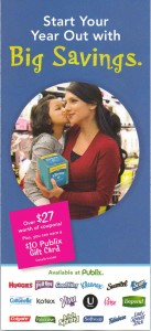 """New Publix Booklet!  """"Start Your Year Out with Big Savings"""""""