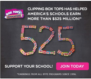Box Tops for Education – SIGN UP ASAP!