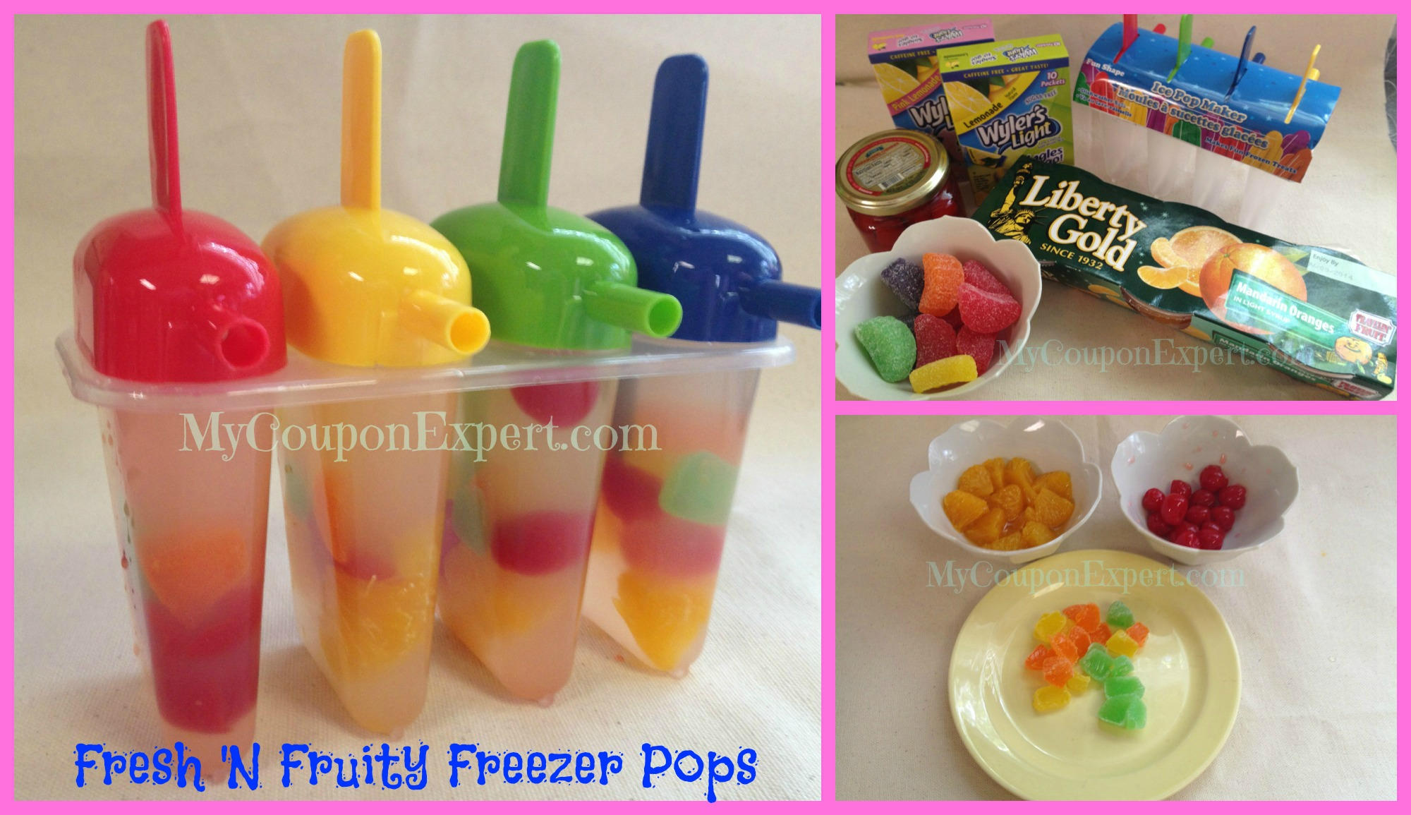 Fresh 'N Fruity Freezer Pops!  You are going to LOVE this!