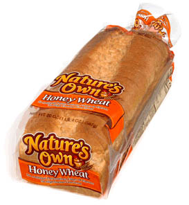 Nature's Own Honey Wheat Bread, 20oz, BOGO - $3.19