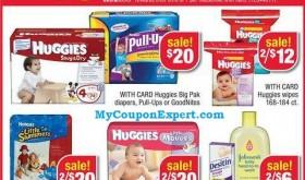 Diaper deal at CVS Starting Sunday 6/2/13, Huggies $3.67 per pack!
