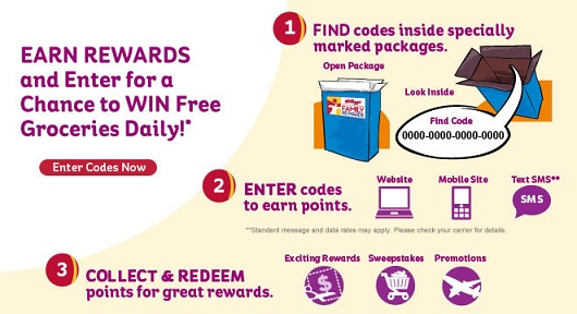 NEW Kellogg's Rewards Code!!