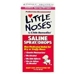 how to use little noses saline drops