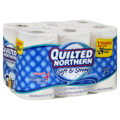 Quilted Northern 12 pack double rolls just $4.24 at Publix!!