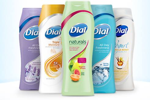 Dial Body Wash Coupons