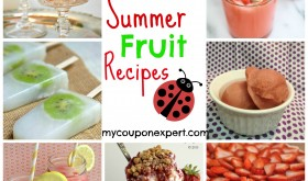 Summer Fruit Recipes!  Make good use of those Sweetbay Coupons!!