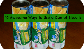 10 AWESOME ways to use a can of biscuits!!