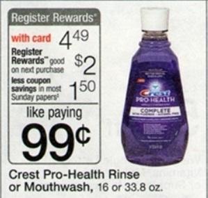 Crest pro health coupon deal