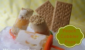 Thrifty Thursday – Peach Cobbler Pops!  Yummy!!!