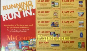 PUBLIX New Coupon Sheet with $10 rebate! Running Out? Run In!