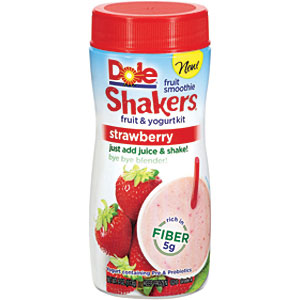 dole shakers red