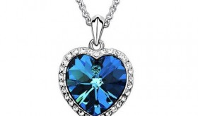 Heart of Ocean Necklace Only $1.59 Shipped – 90% Savings