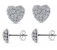 Swarovski Crystal Heart Shaped Studded Earrings Only $6.90 Shipped