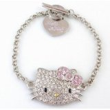 Hello Kitty Charm Bracelet Only $14.99 (70% Savings)