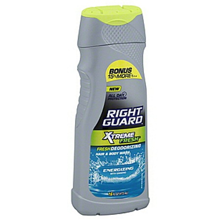 right guard extreme body wash