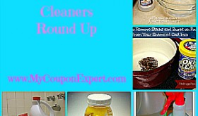 Top 25 Homemade Cleaners Round Up