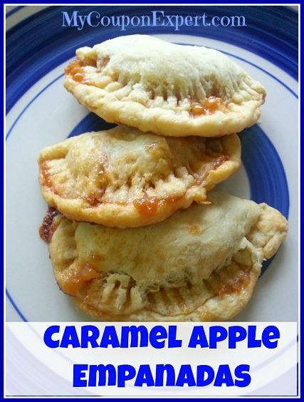 Thrifty Recipe – Carmel Apple Empanadas!!  YUMMY!