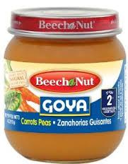 Free or Money Maker Beech Nut Goya Baby Food at Publix Until 10/23