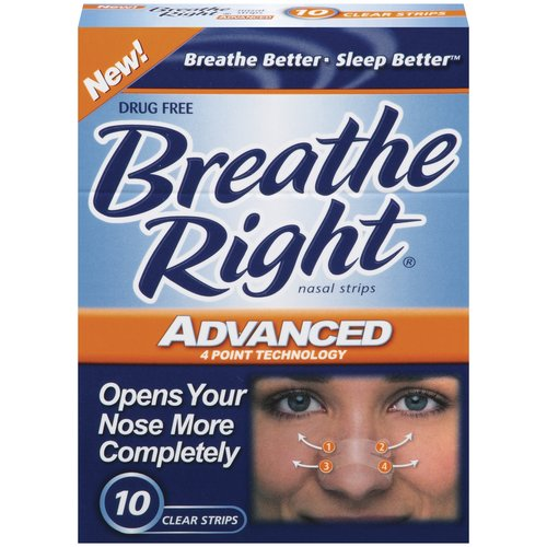 breathe right nasal strips only  0 49 at cvs until 10  19