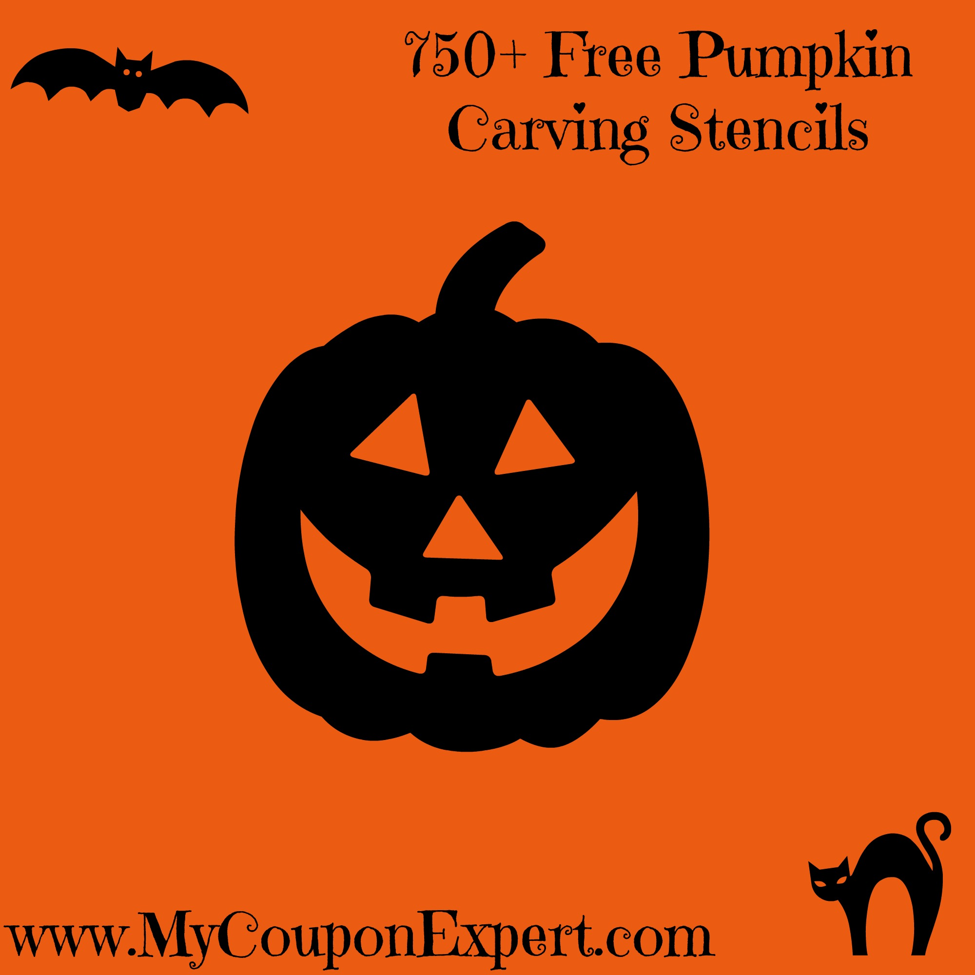 750+ Free Pumpkin Carving Stencils ·