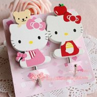 Hello Kitty Decorative Hooks Only $2.99 Shipped