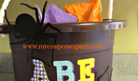 Dollar Tree DIY: Thrifty Trick or Treat Bucket