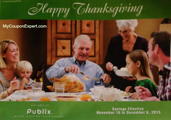 PUBLIX Green Advantage Flyer 11/16/13 – 12/6/13