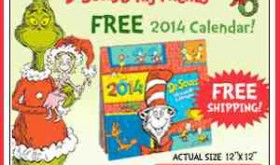 Get FIVE Dr. Seuss Books and a 2014 Calendar for $5.95 shipped!!