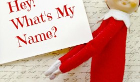 Hey! What's My Name? It's the Name the Elf on a Shelf Contest!