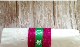Dollar Tree DIY: Easy Holiday Napkin Rings
