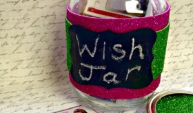 Wish List Spin: DIY Crafty Christmas Wish Jar