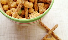 New Year's Day Snacks: Peanut Butter Crunch Mix