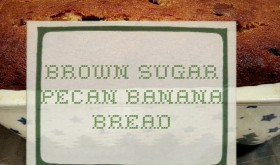 Brown Sugar Pecan Banana Bread