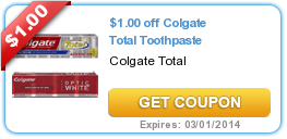 COLGATE 1 OFF COUPON