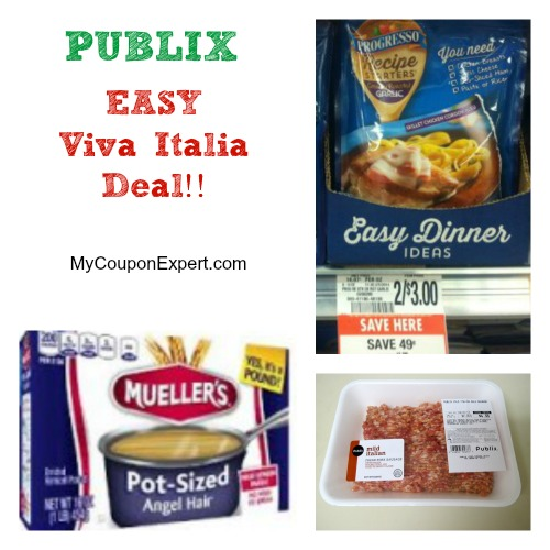 PUBLIX – Easy Viva Italia Deals!