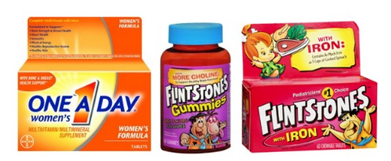 flintstones and one a day