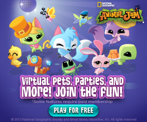 Free National Geographic Animal Jam Game for Kids ·