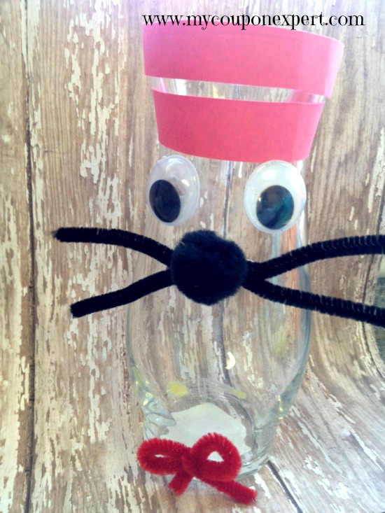 Dr. Seuss Kid's Craft: Thing 1 and Thing 2 Puppets
