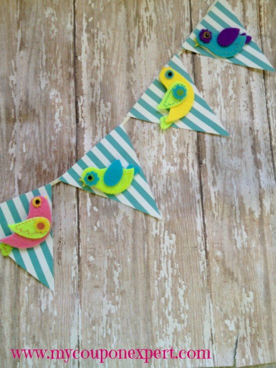 Let's Get Crafty: Easy Spring Bird Banner