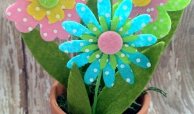 Easter Craft for Kids! Sweet and Simple Spring Centerpiece