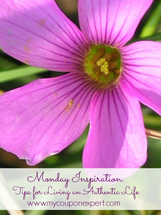Monday Inspiration: Tips for Living an Authentic Life