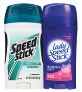 speed stick ladies and mens