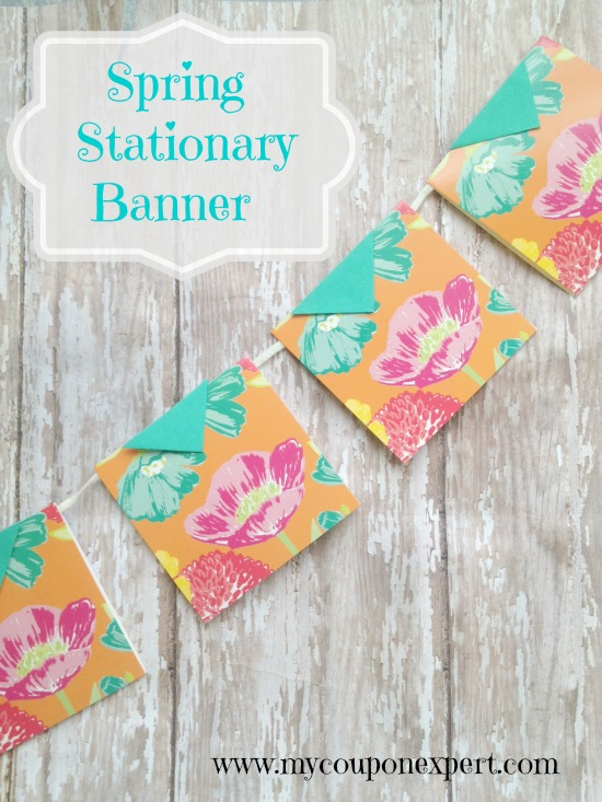 Friday Crafting Fun: Spring Stationary Banner