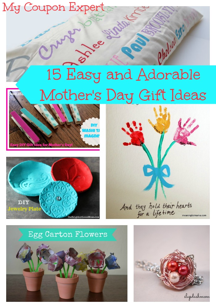 15 Easy and Adorable Mother's Day Gift Ideas