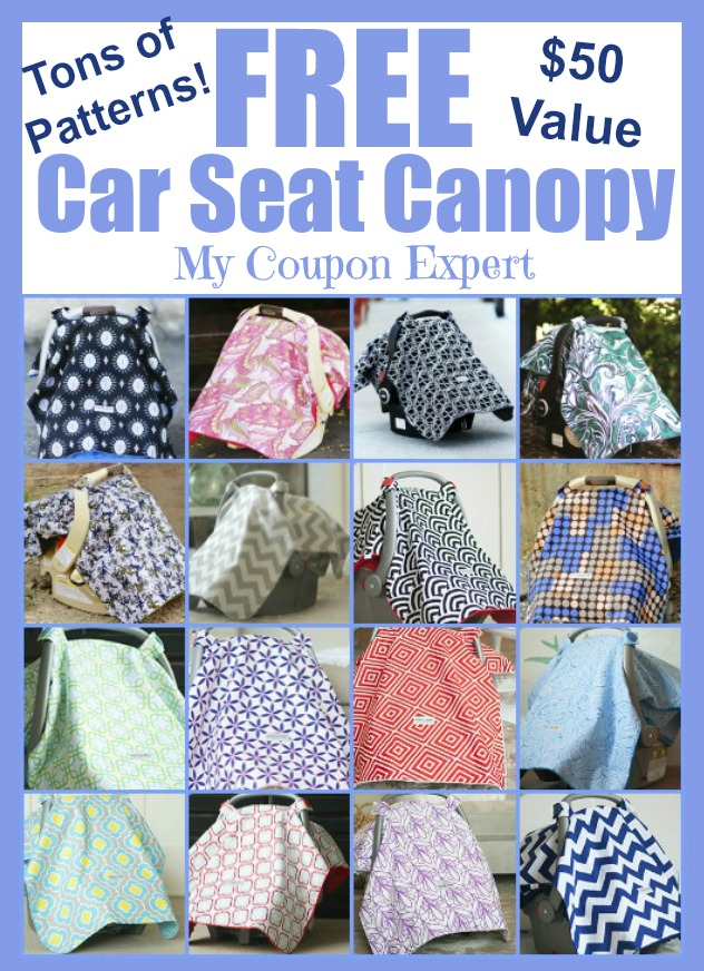 4 active Carseat Canopy Sales & Coupons Visitors save an average of $; Carseat Canopy sells precisely what the name ensues and that is canopies for your baby's car seats! Use one of the provided Carseat Canopy coupon code to enjoy savings when you purchase car seat canopies, such as getting a 40% discount on your total expenditure.
