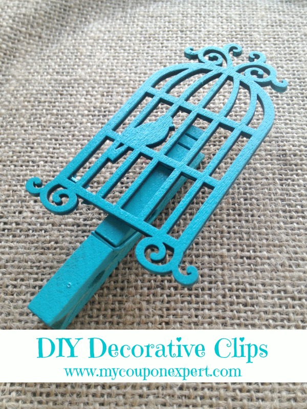 Crafting with Cents: DIY Decorative Clips