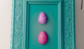 Easy Easter Craft: Eggcellent Easter Picture Frame