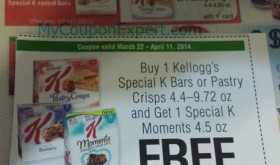 Special K deal at Winn Dixie with competitor coupons!!